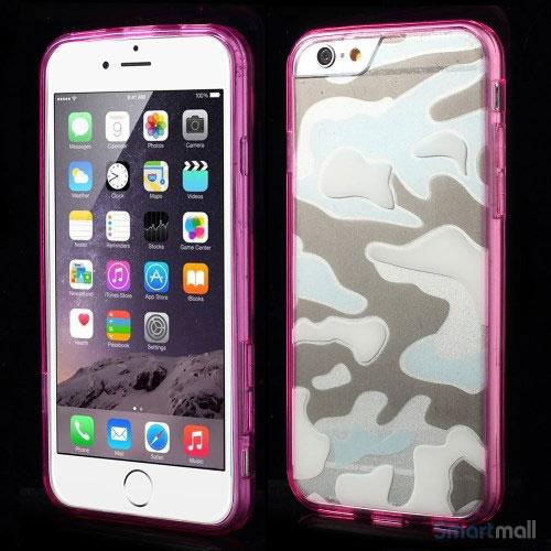 Semitransparent-cover-til-iPhone-6-med-spaendende-3D-camouflage-moennster-rosa