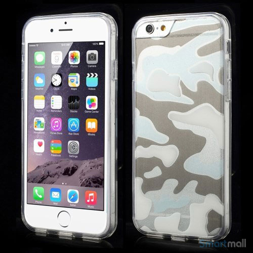 Semitransparent-cover-til-iPhone-6-med-spaendende-3D-camouflage-moennster-transparent