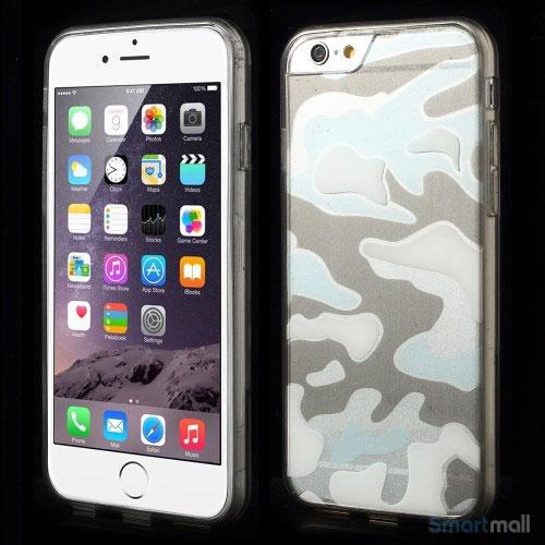 Semitransparent-cover-til-iPhone-6-med-spaendende-3D-camouflage-moenster-graa