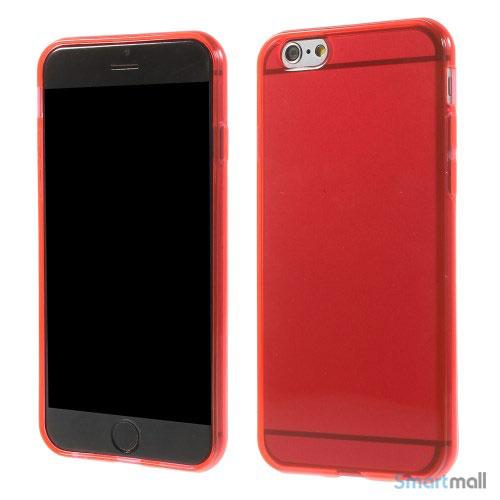 Bag-cover til iPhone 6, enkelt design med avancerede effekter - Roed
