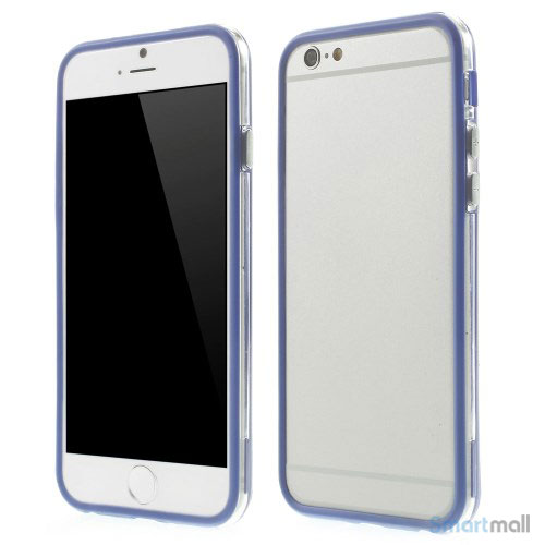 Beskyttende bumper for iPhone 6 i bloed TPU-plast - Dybblaa
