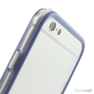 Beskyttende bumper for iPhone 6 i bloed TPU-plast - Dybblaa6