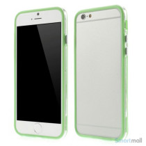 Beskyttende bumper for iPhone 6 i bloed TPU-plast - Groen