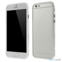 Beskyttende bumper for iPhone 6 i bloed TPU-plast - Hvid