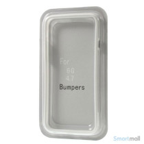 Beskyttende bumper for iPhone 6 i bloed TPU-plast - Hvid6