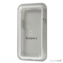 Beskyttende bumper for iPhone 6 i bloed TPU-plast - Hvid6