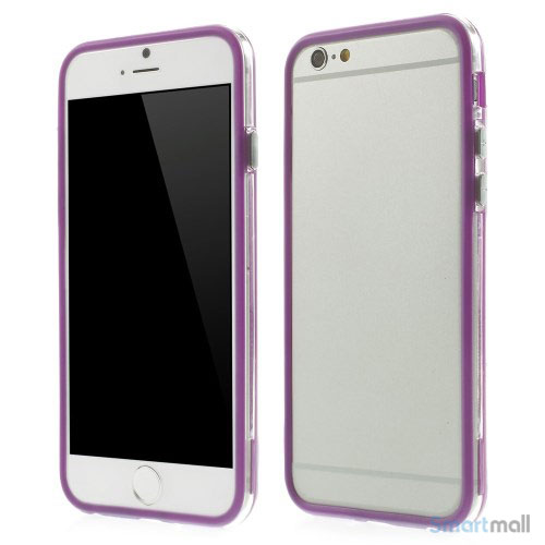 Beskyttende bumper for iPhone 6 i bloed TPU-plast - Lilla