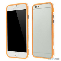 Beskyttende bumper for iPhone 6 i bloed TPU-plast - Orange