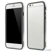 Beskyttende bumper for iPhone 6 i bloed TPU-plast - Sort