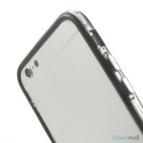 Beskyttende bumper for iPhone 6 i bloed TPU-plast - Sort6