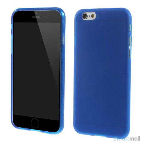 Bloedt fleksibelt cover til iPhone 6 i miljoevenlige materialer - Dybblaa