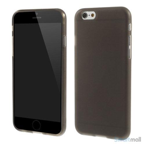 Bloedt fleksibelt cover til iPhone 6 i miljoevenlige materialer - Graa