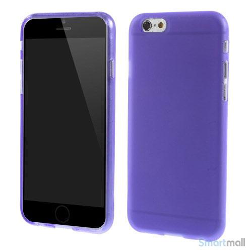 Bloedt fleksibelt cover til iPhone 6 i miljoevenlige materialer - Lilla