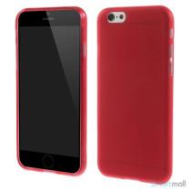 Bloedt fleksibelt cover til iPhone 6 i miljoevenlige materialer - Roed