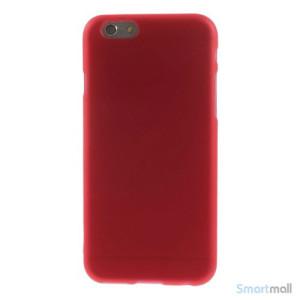 Bloedt fleksibelt cover til iPhone 6 i miljoevenlige materialer - Roed2