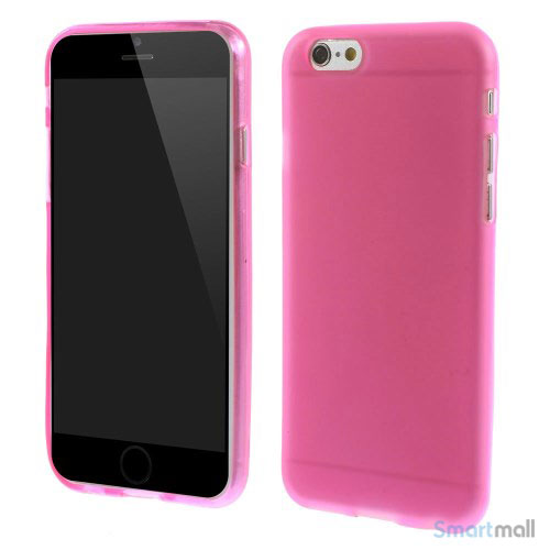 Bloedt fleksibelt cover til iPhone 6 i miljoevenlige materialer - Rose