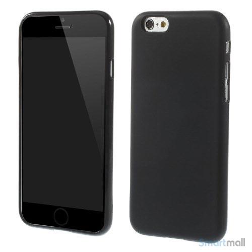 Bloedt fleksibelt cover til iPhone 6 i miljoevenlige materialer - Sort