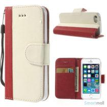 enkel-tofarvet-laederpung-til-iphone-5-og-iphone-5s-roed-hvid