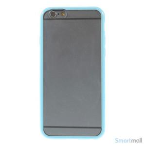 Enkelt stilfuldt cover med god beskyttelse for iPhone 6 - Baby Blaa3