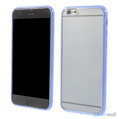 Enkelt stilfuldt cover med god beskyttelse for iPhone 6 - Dybblaa