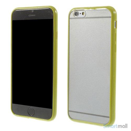 Enkelt stilfuldt cover med god beskyttelse for iPhone 6 - Groen