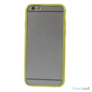 Enkelt stilfuldt cover med god beskyttelse for iPhone 6 - Groen3
