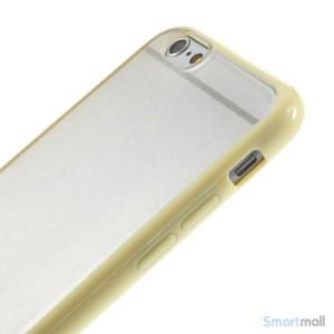 Enkelt stilfuldt cover med god beskyttelse for iPhone 6 - Gul4