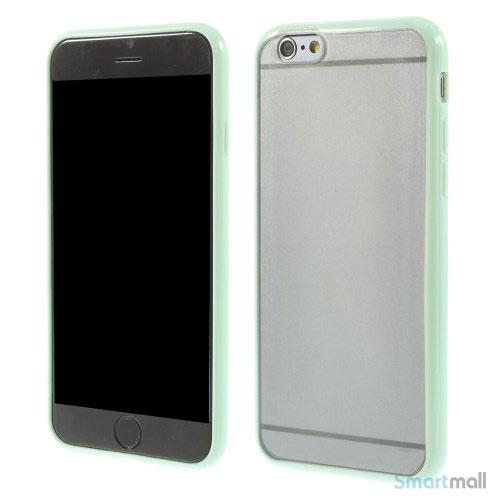 Enkelt stilfuldt cover med god beskyttelse for iPhone 6 - Mint