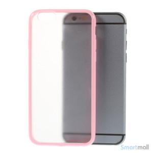 Enkelt stilfuldt cover med god beskyttelse for iPhone 6 - Pink2