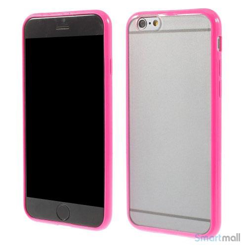Enkelt stilfuldt cover med god beskyttelse for iPhone 6 - Rose