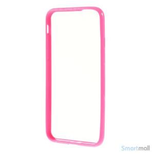Enkelt stilfuldt cover med god beskyttelse for iPhone 6 - Rose6