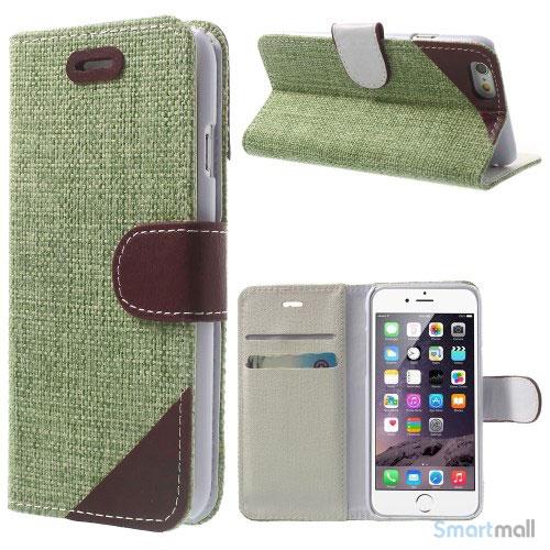 flip-cover-i-bloedt-laeder-til-iphone-6-med-haandstrop-groen