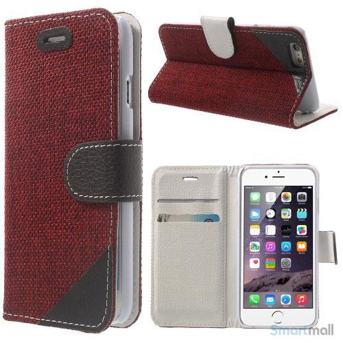 flip-cover-i-bloedt-laeder-til-iphone-6-med-haandstrop-roed