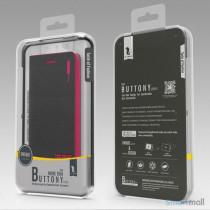 HELLO DEERE flip-cover til iPhone 5 - 5s, laeder med standfunktion - Gul3