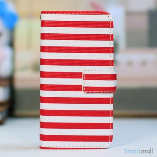 kombineret-laederpung-og-hardcase-for-iphone-5-5s-roed-striber-hvid