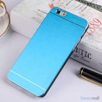 MOTOMO cover til iPhone 6 i slidstaerkt boerstet aluminium - Lyseblaa2