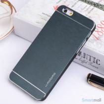 MOTOMO cover til iPhone 6 i slidstaerkt boerstet aluminium - Moerkeblaa2