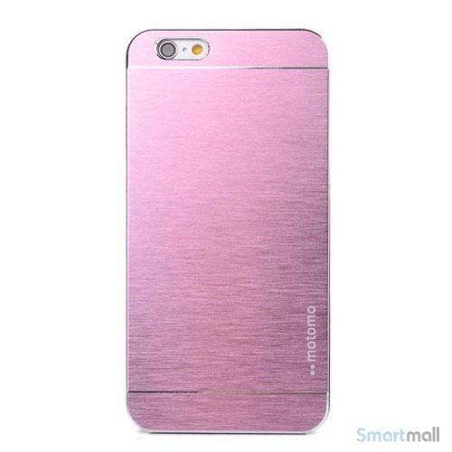 MOTOMO cover til iPhone 6 i slidstaerkt boerstet aluminium - Pink