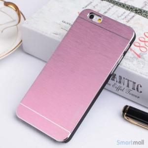 MOTOMO cover til iPhone 6 i slidstaerkt boerstet aluminium - Pink2