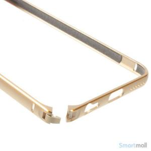 Metalbumper til iPhone-6, forberedt til noeglering mv-Guld7