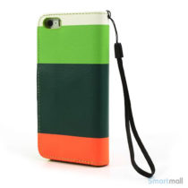 multifarvet-pung-til-iphone-5-og-iphone-5s-groen-moerk-groen-orange2