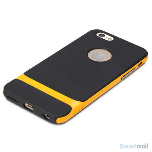 Original ROCK Royce cover til iPhone 6 og 6s i laekkert design - Gul