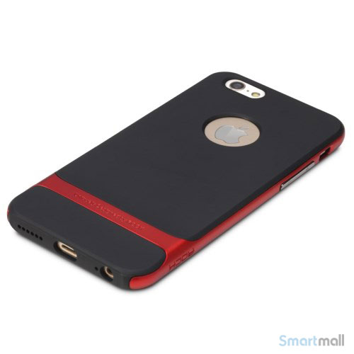 Original ROCK Royce cover til iPhone 6 og 6s i laekkert design - Roed
