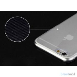 Original ROCK cover til iPhone 6, ultra tynd letvaegtsudgave - Gennemsigtig3