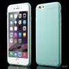 Praktisk iPhone 6 cover i laekker bloed gummi-plast - Baby blaa