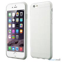 Praktisk iPhone 6 cover i laekker bloed gummi-plast - Gennemsigtig7