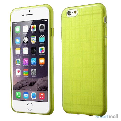 Praktisk iPhone 6 cover i laekker bloed gummi-plast - Groen7
