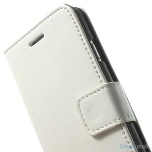 Robust iPhone 6 laederpung med kreditkortholder og lomme - Hvid6