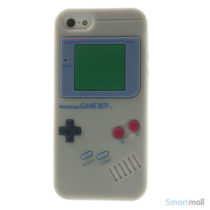 sjovt-nintendo-inspireret-silikone-cover-til-iphone-5-og-5s-graa