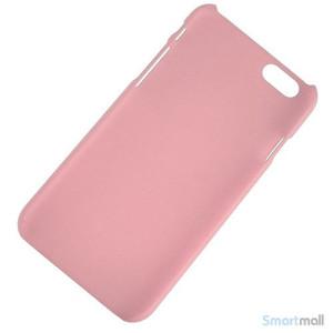 Soedt cover til iPhone 6, dekoreret med smaa cartoons - Pink2